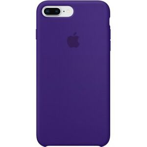 low priced 53554 dfc6c Details about Apple iPhone 8 Plus Silicone Case - Ultra Violet - MQH42ZM/A  - Used