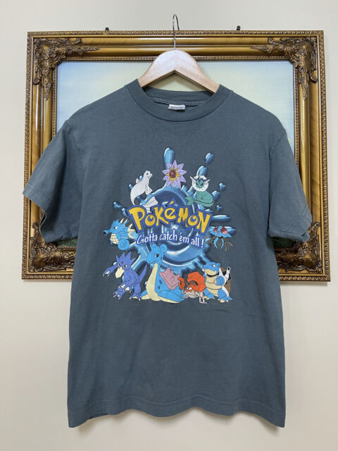 Vintage Pokemon Shirt 1999 Vintage Anime Shirt DBZ Naruto Avatar Akira PPG Tee