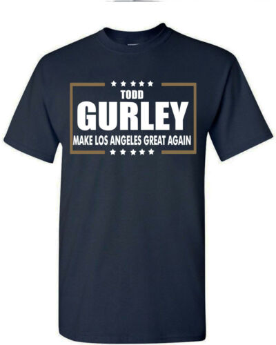 "Todd Gurley Los Angeles Rams /""Making Los Angeles Great Again/"" T-Shirt"