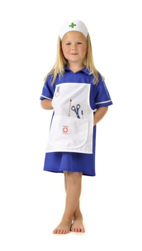 Infantil Niños Chicos Chicas servicios de emergencia Fancy Dress Up Traje Traje