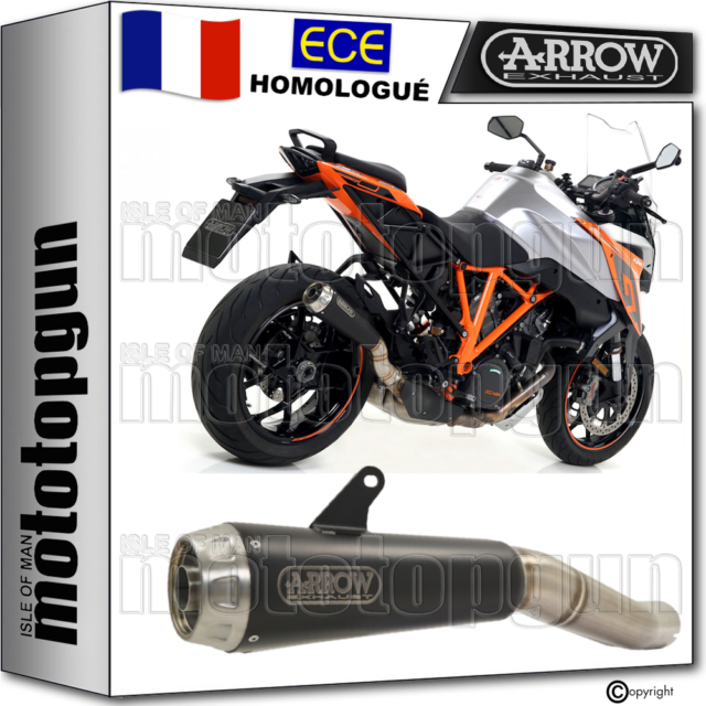 ARROW POT ECHAPPEMENT APPROUVE PRO-RACE NOIR KTM 1290 SUPERDUKE GT 2018 18