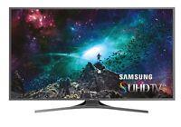 Samsung Un55js7000 55-inch 4k Ultra Hd Smart Led Tv Bundle