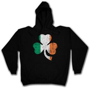 cappuccio Raf di irlandese con cappuccio Felpa Felpa Cloverleaf Pub con Ireland Ireland trifoglio OB0E7q