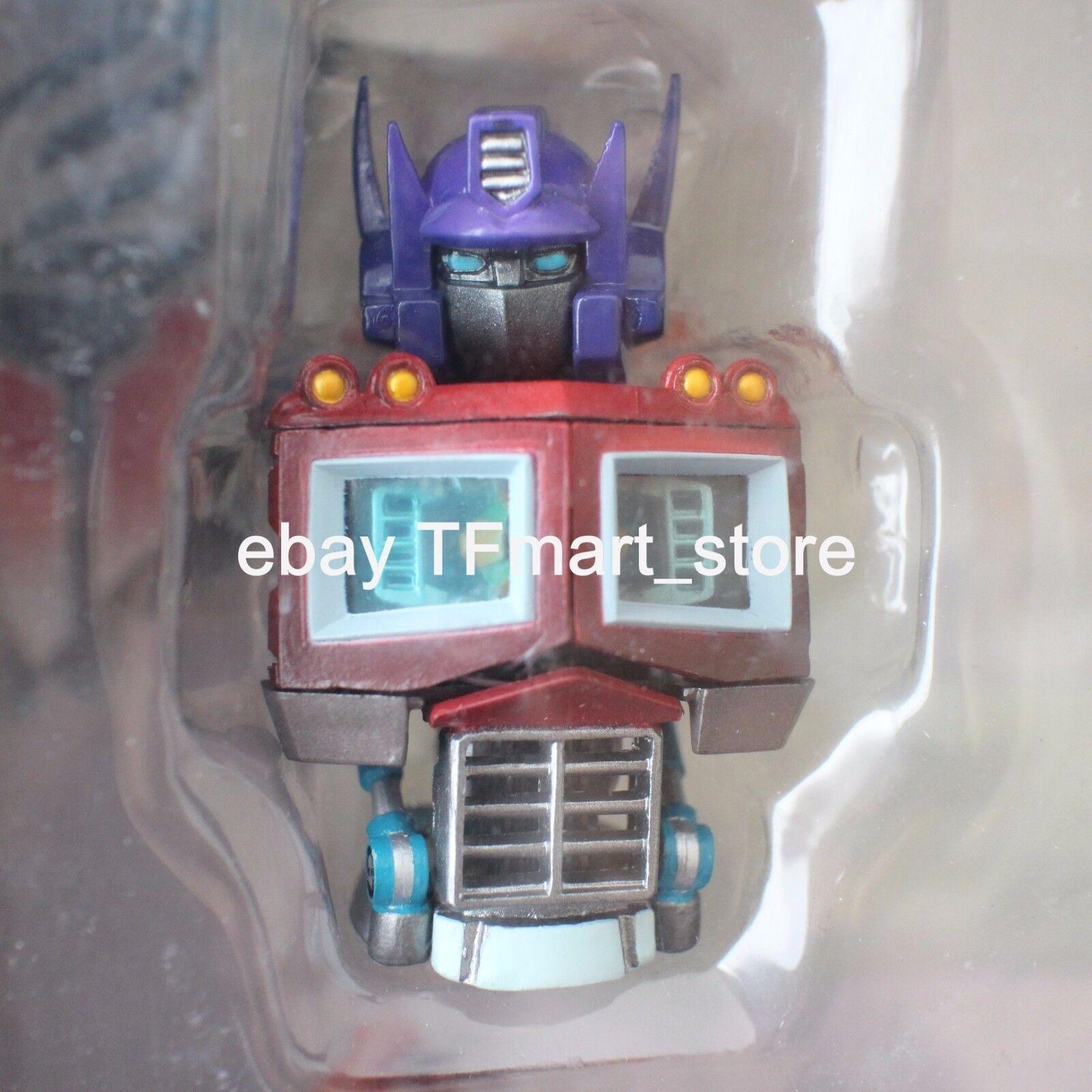 Transformers K-T mini-Busto Escultura Optimus Prime Rumble frenesí Devastator MIB