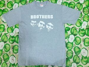 09389a19a641 SUPREME BROTHERS MADE IN USA T SHIRT L BOX LOGO KERMIT KATE MOSS | eBay