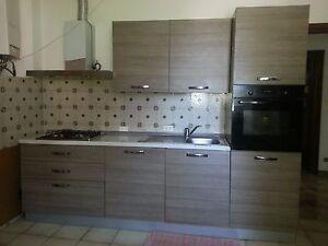 CUCCINA Küche Küchenzeilen 330 x 210 x 60 Cm mit Elektro Geräte ...