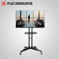 Fleximounts LED LCD Mobile TV Cart Stand Mount for Samsung 32 40 46 47 50 60