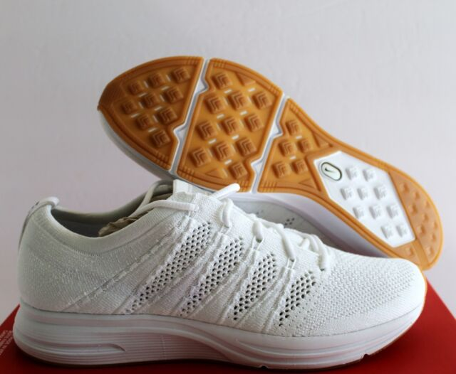 563abc0d4af8b Nike Flyknit Trainer Bright Citron Yellow Black White Ah8396 700 Size 8.5