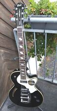 CORT E-Gitarre Sunset 1 in schwarz, TV Jones Pickup´s, Bigsby Tremolo, .........