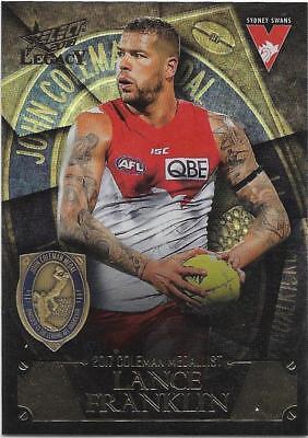 2018 Select Legacy All Australian AA11 Lance FRANKLIN Sydney