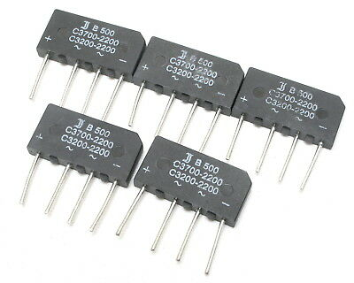 AEG B80C3700-2200 3.7A 80V single phase bridge rectifier Lot-2pcs