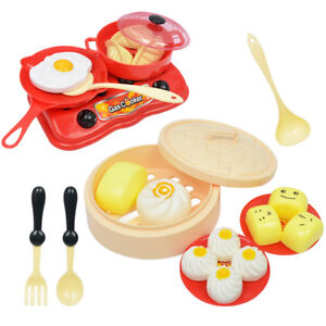Fabulous Details About Pretend Play Kitchen Set 18Pcs Breakfast Cooking Set For 2 6 Year Old Kids Download Free Architecture Designs Jebrpmadebymaigaardcom