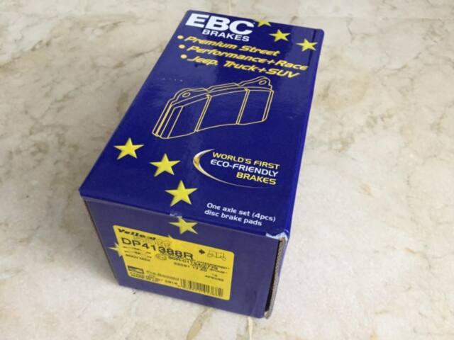 Pastillas freno EBC DP41388R yellow Stuff