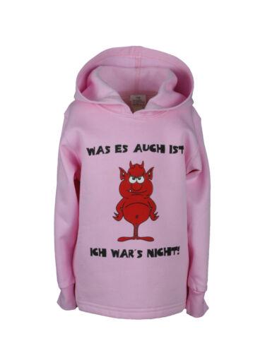 petit diable rose 86 à 128 Enfants sweatshirt