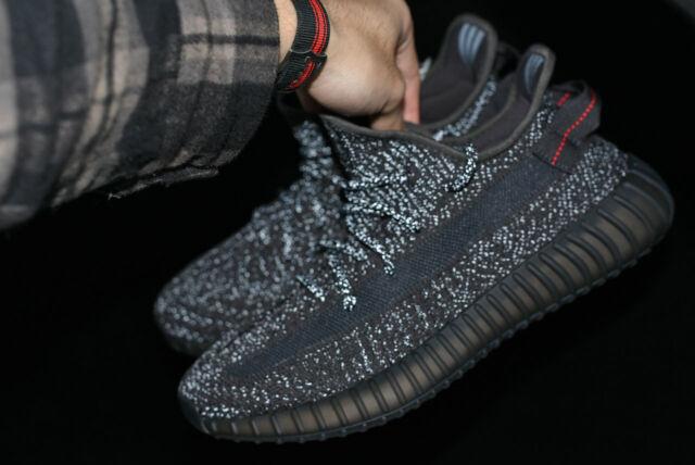 Adidas Yeezy Boost 350 V2 Black Static Kids