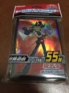 Yugioh Konami Character Card Sleeve Yugi Muto X55 Pcs New ...