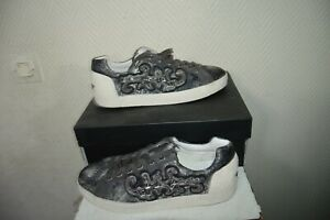 CHAUSSURE-BASKET-TENNIS-NYMPHEA-ASH-TAILLE-40-SHOES-ZAPATOS-STIVALI-CUIR-NEUF