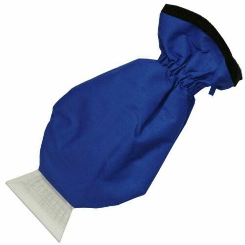 Sakura Car Van Windscreen Ice Frost Scraper with Insulated Fleece Lined Glove