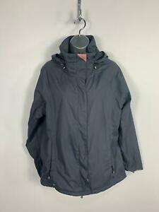 WOMENS-JOULES-BLUE-LIGHT-WEIGHT-CASUAL-HOODED-RAIN-COAT-JACKET-SIZE-SMALL-UK-10
