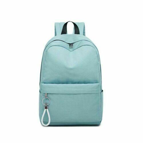 Women Leather Waterproof Backpack Anti-Theft School Travel Shoulder Bag Satchel