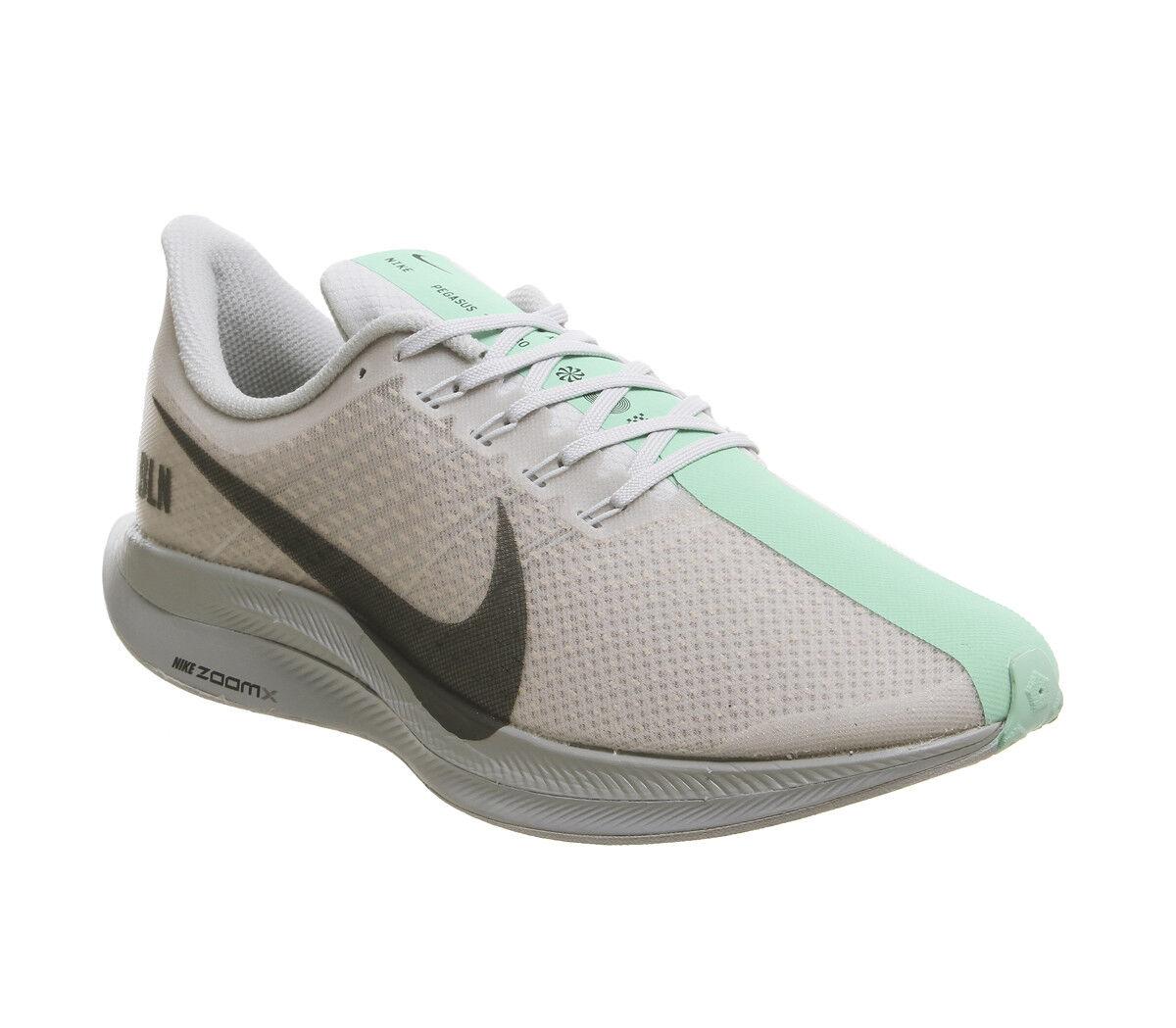 Nike zoom pegasus turbo aus platin anthrazit emerald aufstieg aufstieg aufstieg cremefarbene 0f4241