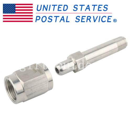 PCP Stainless Steel CGA 347 Nut Nipple Regulator Inlet Bottle Fittings Tools US