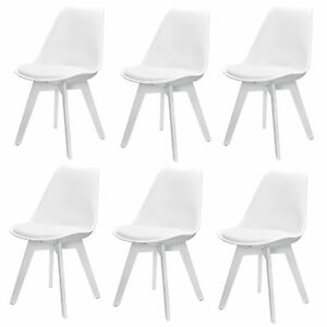 Perfekt Image Is Loading EN Casa 6x Design Chairs Dining White Chair