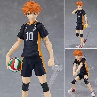 Anime Haikyuu! No.10 Hinata Shoyo PVC Figure Toy Gift New N B17cm