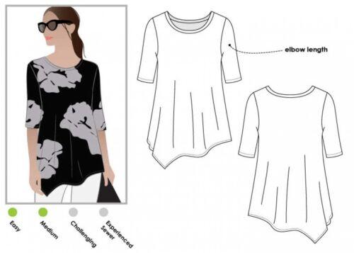 Style Arc Ladies Sewing Pattern Kim Swing Top MLTK059S-M