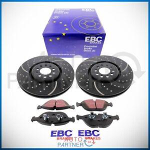 EBC-for-Audi-VW-Golf-4-IV-R32-Turbo-Groove-Brake-Disc-Blackstuff-Front-Pads