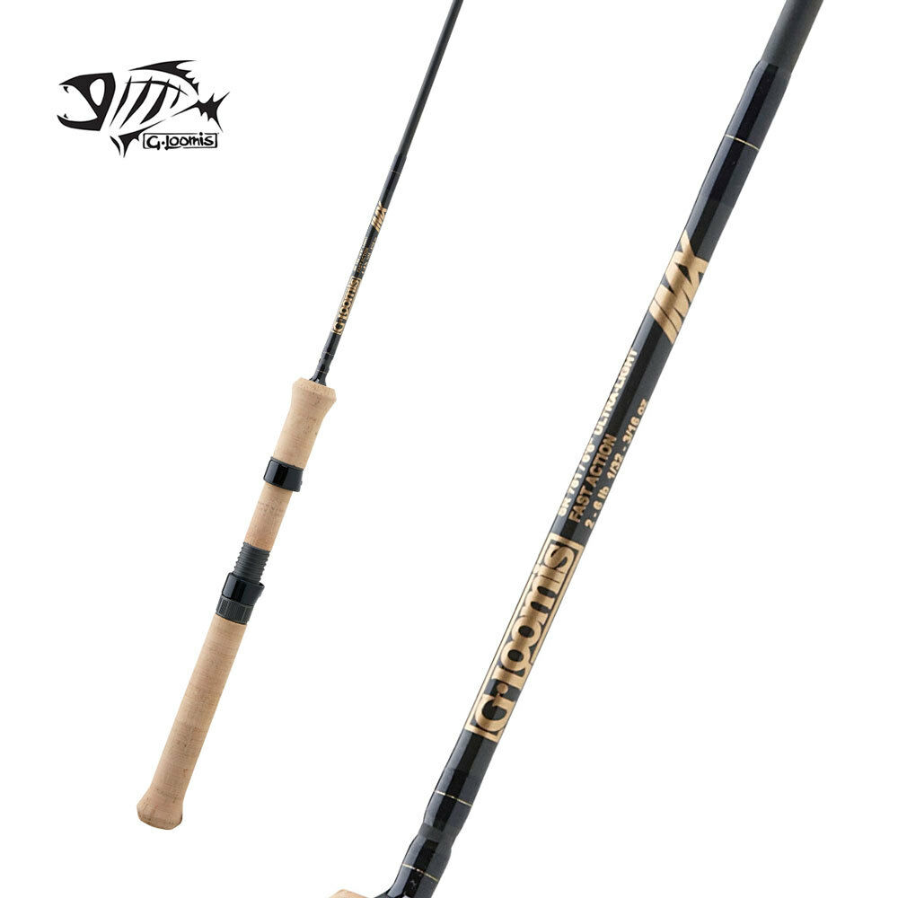 G LOOMIS Trucha & Panfish Spinning Rod SR781-1 IMX 6' 6  Luz Ultra 1pc