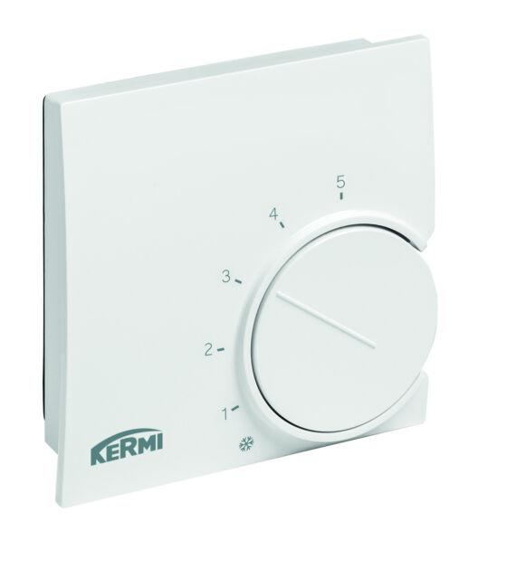 KERMI x-net elektronischer Raumthermostat 230 V SFEER002230