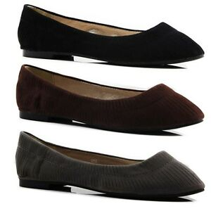 Image is loading NEW-LADIES-WOMENS-CASUAL-FLATS-LOAFERS-COMFORTABLE-FLAT- 4afde3371