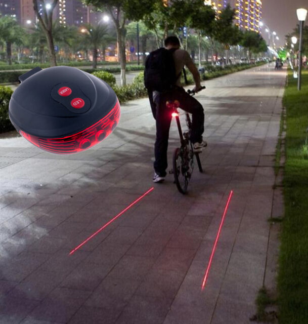 Tail Light for Bicycle Solar Powered LED Rear Flashing Bike Cycling Lamp Safety