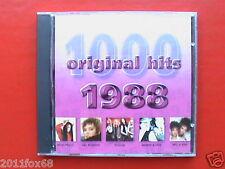 Pat Benatar Poison Mel & Kim Wendy & Lisa 1000 original hits 1988 Raro CD 2001