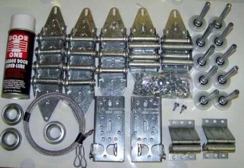 2 Car Door Garage Door Tune Up Kit DELUX KIT