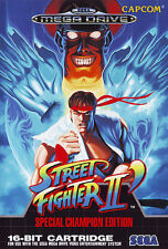 ## SEGA Mega Drive - Street Fighter 2 / MD Spiel ##