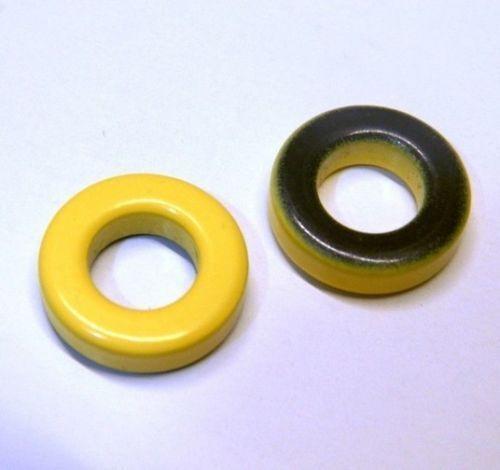 QRP INDUCTOR 9.53×5.21×3.25 5pcs T37-6 MICROMETALS TOROID HF