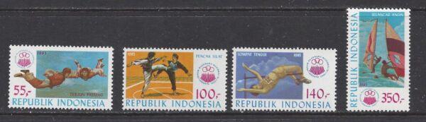 Bien Indonésie - 1277 - 1280-neuf Sans Charnière - 1985 - 11th Sports Nationaux Semaine