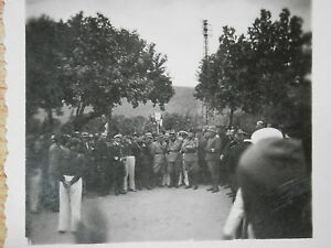 Vecchia-foto-MUSSOLINI-nel-salernitano-Salerno-Eboli-Campagna-con-gerarchi-di