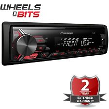 Pioneer MVH-190UB Mechless MP3 auto estéreo WMA FLAC USB AUX in RDS Sintonizador Android