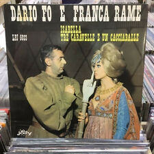 DARIO FO E FRANCA RAME  - ISABELLA TRE CARAVELLE... - LP VINILE RARO