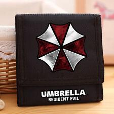 Hot Film Resident Evil Umbrella Logo Oxford Wallet High Quanlity