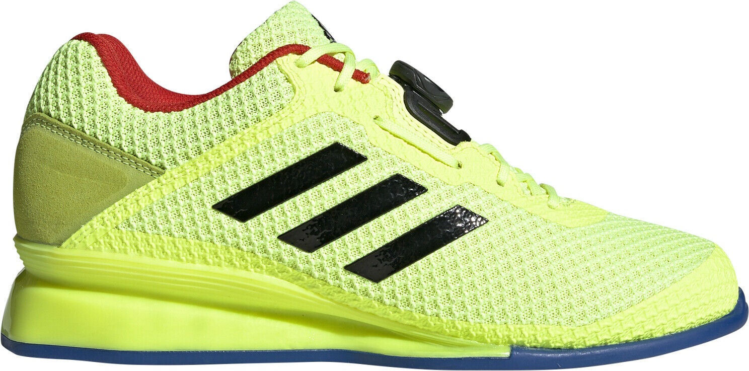 Adidas Leistung  16 II BOA Weightlifting shoes - Yellow  presenting all the latest high street fashion