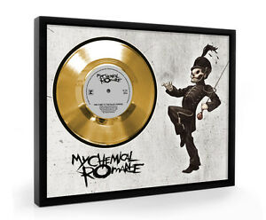 My-Chemical-Romance-The-Black-Parade-Framed-Gold-Disc-Display-Vinyl-C1
