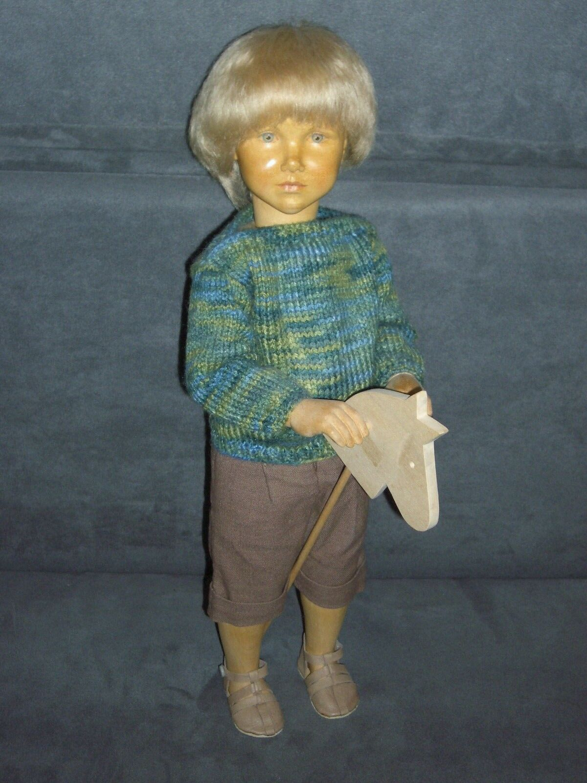 Regina sabbia Reuter Bambola Legno Bambola Felix di 1991 12-ceco Multi pose-CORPO