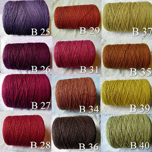 Gorgeous-3-Ply-QUALITY-Soft-Cotton-Yarn-Knit-Crochet-Weave