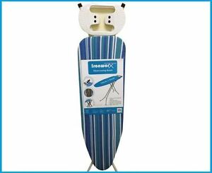 Easy-Iron-Ironing-Board-Light-weight-Adjustable-Height-Assorted-New-110x33cm