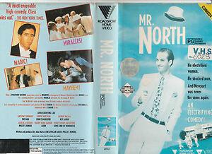 MR-NORTH-ANTHONY-EDWARDS-ROBERT-MITCHUM-LAUREN-BACALL-HUSTON-RARE-PAL-VHS-VIDEO