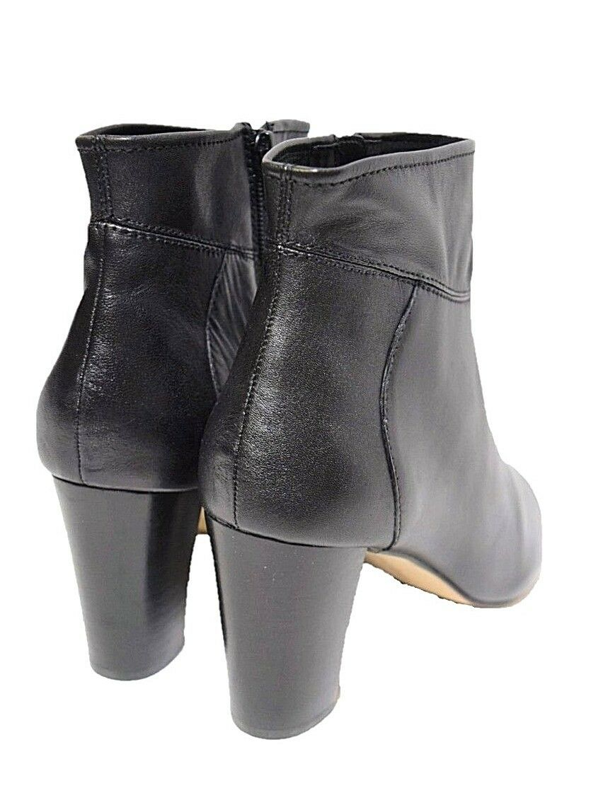 DIANA FERRARI leather leather leather bootie sz 9   40 NOLITA black ankle boots shoes NIB rp 180 00b230